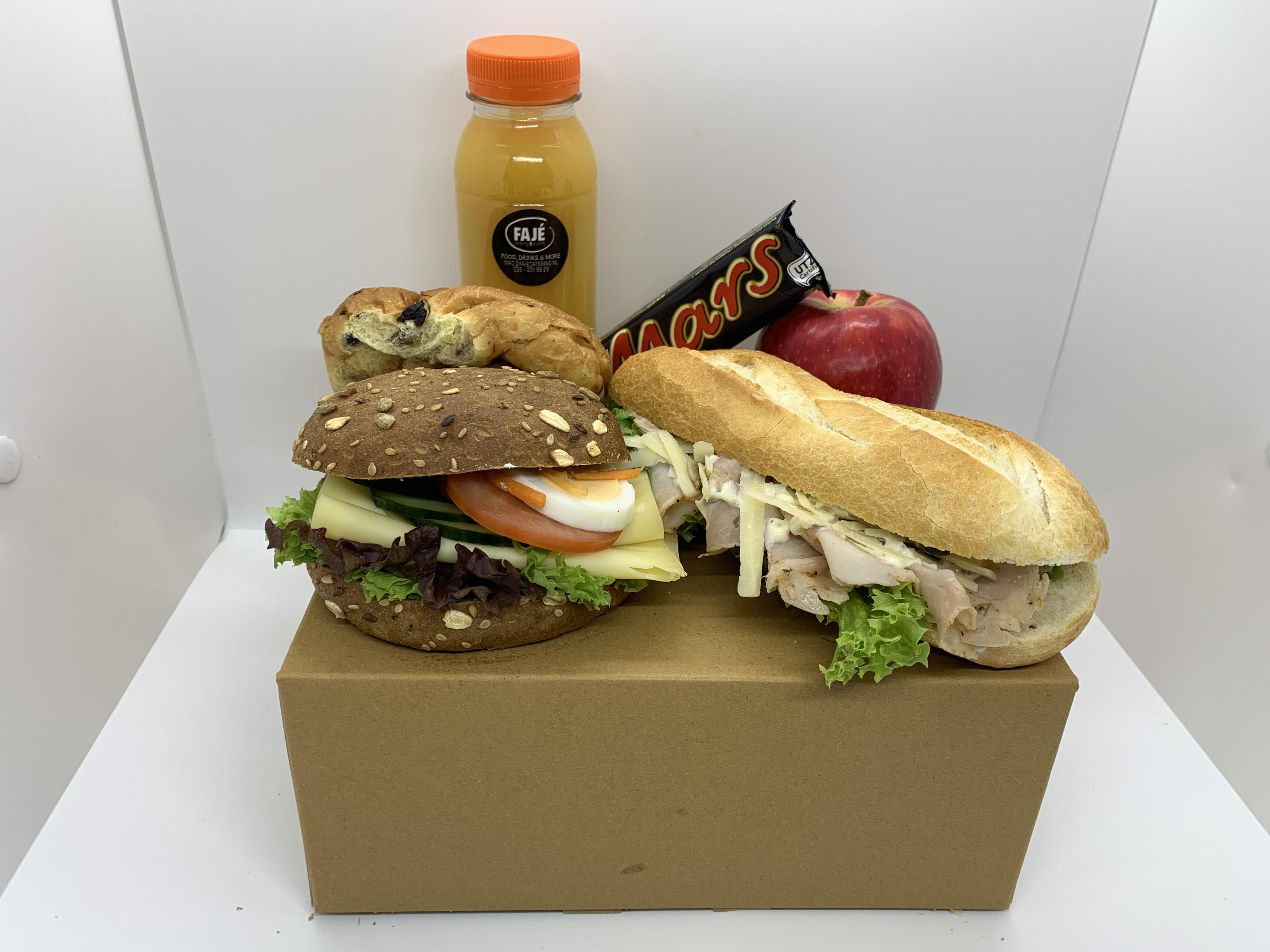 Lunchpakket uitgebreid